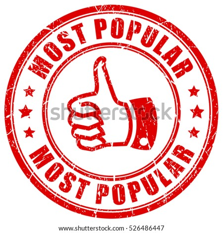 most popular rubber stamp vector illustration vector de stock libre