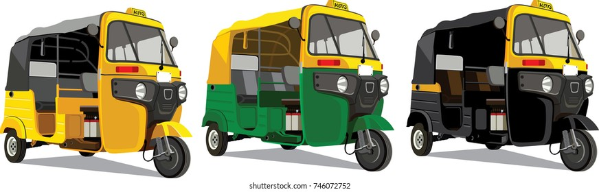 Most Popular transport in India Auto
