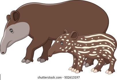 Tapir Cartoon Images Stock Photos Vectors Shutterstock