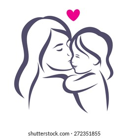 Mom Sketch Images Stock Photos Vectors Shutterstock