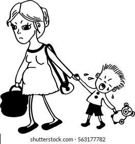 Black and White Cry Images, Stock Photos & Vectors ...