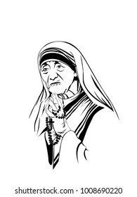 Royalty Free Mother Teresa Images Stock Photos Vectors Shutterstock