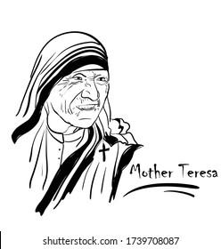 Mother Teresa. Saint Teresa of Calcutta.
