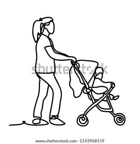 Baby Dog Stroller