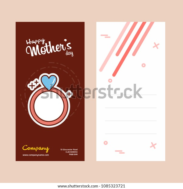 mothers day card ring logo pink stock vector royalty free 1085323721 shutterstock