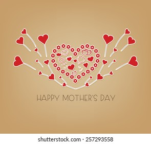 mothers day music greeting card
