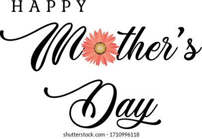 Mothers Day Special, Typography for print or use as poster, card, flyer or T Shirt