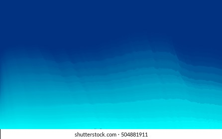 Motion blur abstract blue sea background with horizontal stripes.EPS10