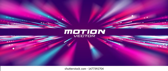 Motion speed line abstract vector background, Moving effect.