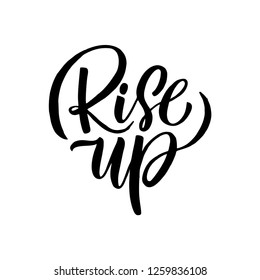 "Motivation qoute ""Rise up"""