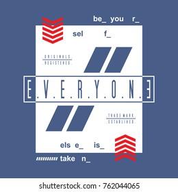 motivation slogan typography tee design, vector illustration t shirt graphic artistic element