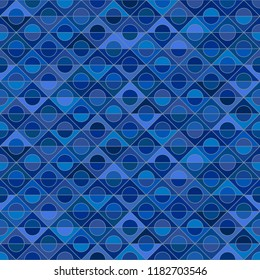 Motley seamless pattern, blue background, diversity of tones, ethnicities and nations of Europe, vector template