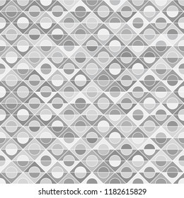 Motley seamless pattern, grey background, diversity of tones, ethnicities and nations of Europe, vector template