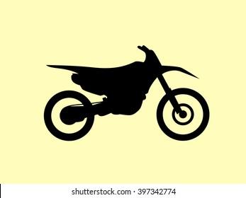 Motocross dirt-bike sign