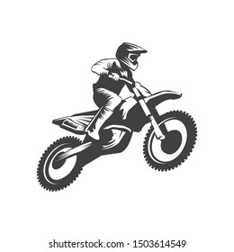 Motocross Logo, Motor cross Logo, Extreme sport logo