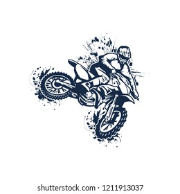 motocross vector art