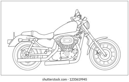 motocycle bike motobike stand