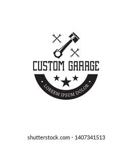 motor logo design inspiration black white