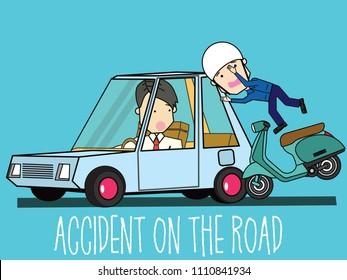 Imagenes Fotos De Stock Y Vectores Sobre Bike Accident Cartoon