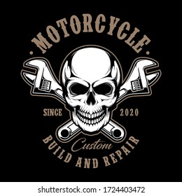 motorcycle badges vector, a vector that is detailed and cool to print