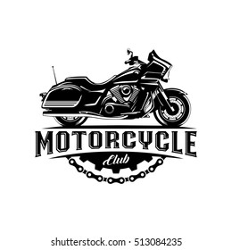 Motorcycle Club black with gear