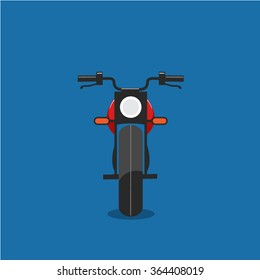 Motorcycle Front Simple