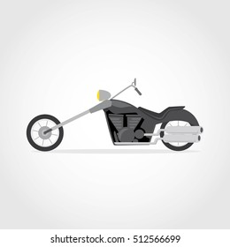 Motorcycle icon vector design.