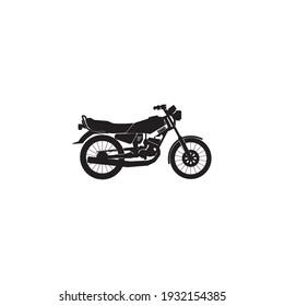 motorcycle Icon vector design illustration logo template