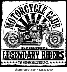 Chopper Bike Stock Vectors, Images & Vector Art   Shutterstock on coast guard harley shirts, live in cali shirts, chopper posters, motorcycle shirts, west coast choppers shirts,