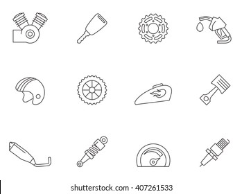Motorcycle Spare Parts Images Stock Photos Vectors Shutterstock