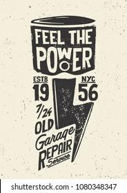 Motorcycle.  Motorcycle piston design.  typography tee print design.