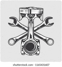 Royalty-Free Piston and Wrench Stock Images, Photos & Vectors ...