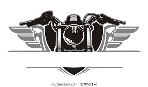 motorcycle wing vintage