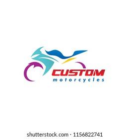 motorcycles logo vector illustration