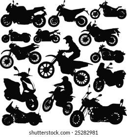 Motorcycle-vector