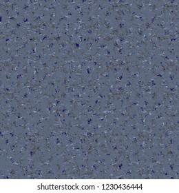 Mottled tweed fabric texture. Blue flecked background. Vector illustration.