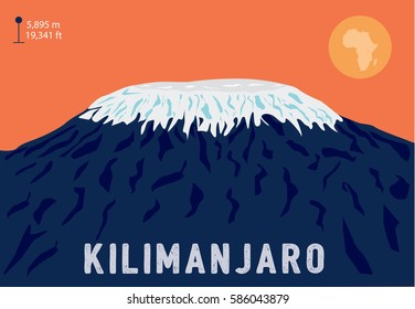 Mount Kilimanjaro – the highest mountain in Africa