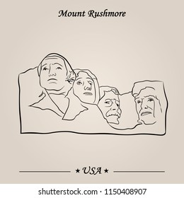 The Mount Rushmore Monument