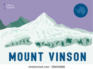 Mount Vinson - the highest summit in Antarctica