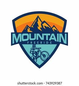 Mountain Bike Free Ride Downhill