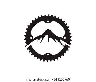 Mountain bike Gear logo