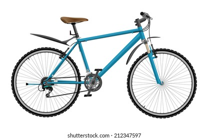 052c4feb740 Royalty Free Stock Illustration of Downhill Extreme Sport Bicycle On ...