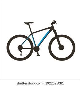 mountain bike vehicle vector design. life style sport