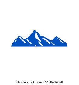 Mountain design symbol, sign, icon