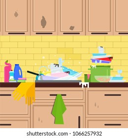 dirty kitchen Images, Stock Photos & Vectors | Shutterstock on unhealthy kitchen, unkept kitchen, funny back in the kitchen, restaurant kitchen, wet kitchen, ugly kitchen, used kitchen, artisan kitchen, unsanitary kitchen,