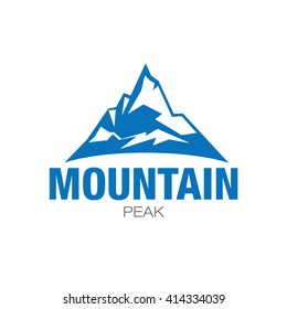 Mountain Icon design in vector format