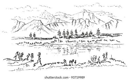 Doodle Hills Images, Stock Photos & Vectors | Shutterstock