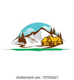 Mountain Landscapes Logo