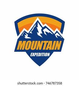 Mountain Logo Adventure Expedition