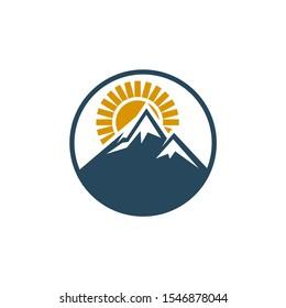 mountain logo design inspiration eps 10